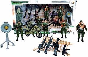 Army-Toy-Soldiers-Figurines-moto-armes-et-accessoires-4-Figures