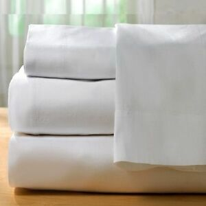 1-piece-new-white-sheet-300-thread-count-cotton-blend-made-in-usa-all-sizes