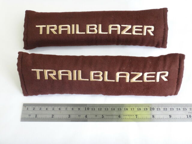 PAIR BROWN BELTS COVER FOR CHEVROLET TRAILBLAZER DURAMAX 2012-15 GENUINE PARTS