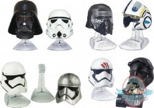 liquidación hasta el 70% Estrella wars the negro series Die-cast cascos caso de de de 6 Hasbro  protección post-venta
