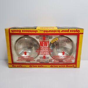 Vintage-Bosch-H4-Headlights-Kit-5-3-4-034-SBQ5-Germany
