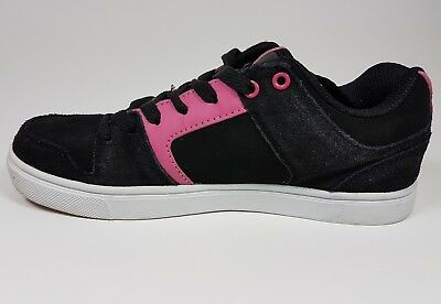 Airwalk Aero low black suede leather trainers uk 5 eu 38