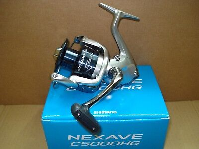Nexave 4000 FE Shimano Angelrolle Spinnrolle Stationärrolle