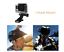 GoPro-CASCO-DA-MOTO-MOUNT-girevole-per-Hero-3-4-5-6-7-ACTION-CAMERA-Session miniatura 6