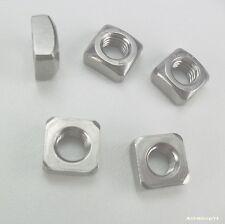20 Vierkantmuttern DIN 557 A2-70 Edelstahl VA M8 Vierkant Mutter