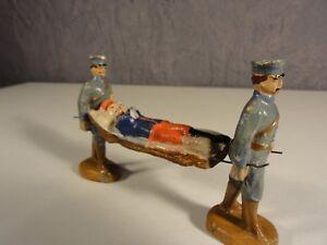 Antiquitäten & Kunst Militär Ehrgeizig Krankenträger Soldaten Militär Lineol Elastolin Masse Um 1900 Nr 34 Grade Produkte Nach QualitäT