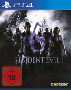 Residente-Evil-6-ps4-Sony-PlayStation-4-articulo-nuevo-precintado