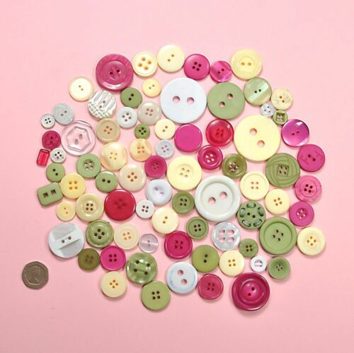 Embellishments Buttons Galore 100gms Quaint Cottage Craft Buttons