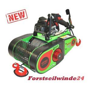 Forstseilwinde-Seilwinde-VF-155-Ultralight-Automatik-inkl-80m-Seil-Benzinwinde