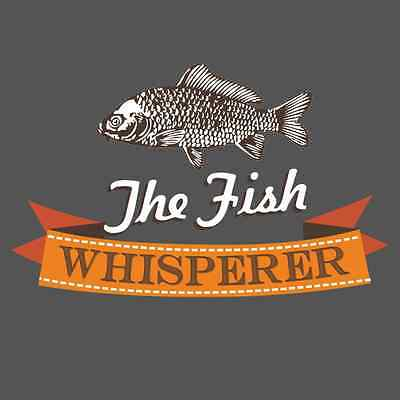 Fish Whisperer Funny Men's Fishing T SHIRT Dad Father's Day Graphic Novelty Tee