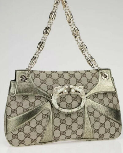 Gucci Dragon Tom Ford Bag Monogram Gold Pearl