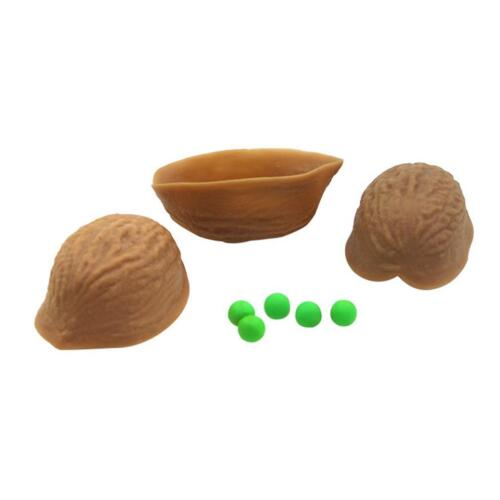 Educational Close-up Plastic 3 Shell Game Makers Trick Toys C