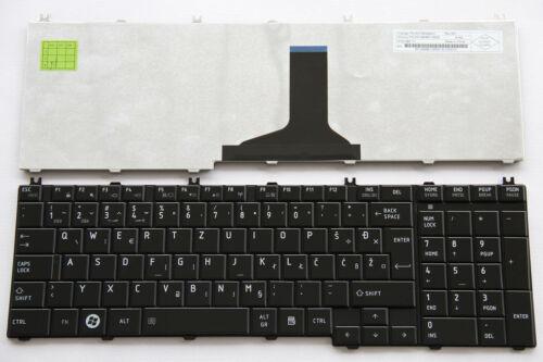For Toshiba Satellite C650 C655 C660 C670 Keyboard Slovenian Croatian Serbian HR