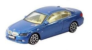 Nuevo-1-43-Diecast-Modelo-Coche-BMW-serie-3-Coupe-en-azul-metalico