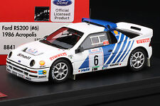Ford RS200 (#6) 1986 Acropolis Rally -- HPI #8841 1:43 **RESIN MODEL**
