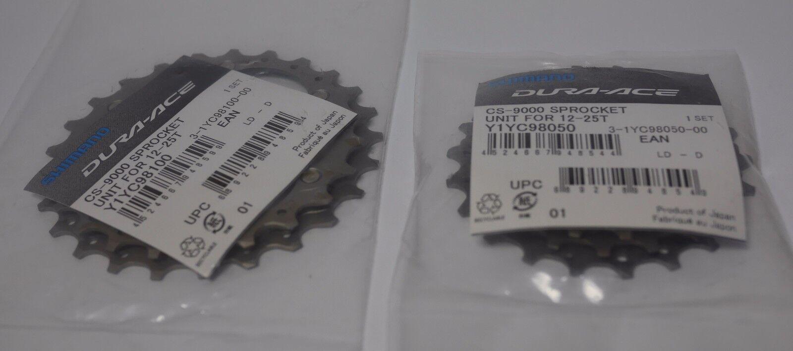 Shimano Dura-Ace CS-9000 12-25 Titanio 11  velocidades engranajes de piezas de repuesto  disfrutando de sus compras