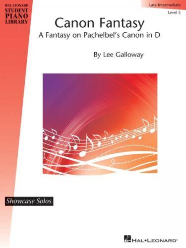 Canon Fantasy Hal Leonard Student Piano Library Showcase Solo Level 5  000296827
