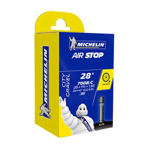 Michelin air chamber has 700 x 35//47 35//47-622//635 a3 valve schrader velo gravel
