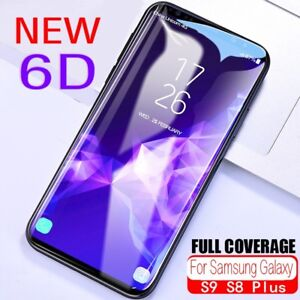 Screen-Protector-For-Samsung-Galaxy-S9-S8-Plus-6D-Full-Coverage-Tempered-Glass