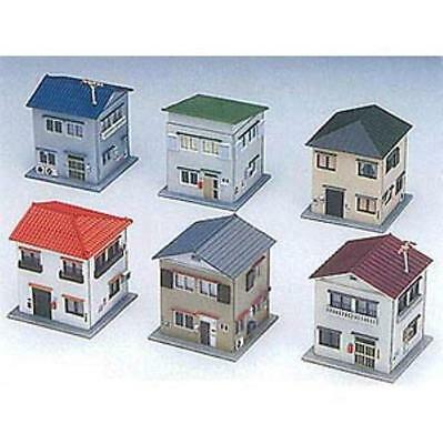 Greenmax No.2137 House Set 6 houses 1/150 N scale New Japan