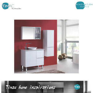 Image Is Loading 750mm Lux Free Standing Bathroom Vanity With Above