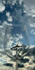 Home The Original Shark Red Wine Glass-Handmade Crystal Glass For Party T6S4