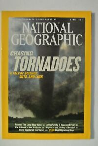 National Geographic Magazine April 2004 Chasing Tornadoes A Tale of Science - Cromer, United Kingdom - National Geographic Magazine April 2004 Chasing Tornadoes A Tale of Science - Cromer, United Kingdom