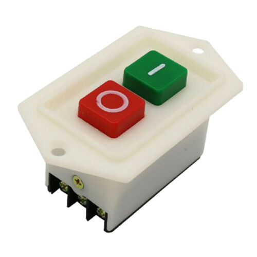 Drill Press Switch Start Push Button Switch LC310 220//380V 10A Red//Green