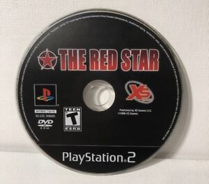 Red-Star-Sony-PlayStation-2-2007-PS2-Disc-Only-Tested