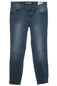 Tom-Tailor-Jona-7-8-Jeans-Capri-Hose-Pants-Used-Denim-Damen-Stretch-Extra-Skinny