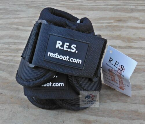 RES//Weaver Black Bell Boots