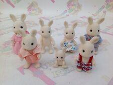 Sylvanian Families Warren White Rabbit Family ��