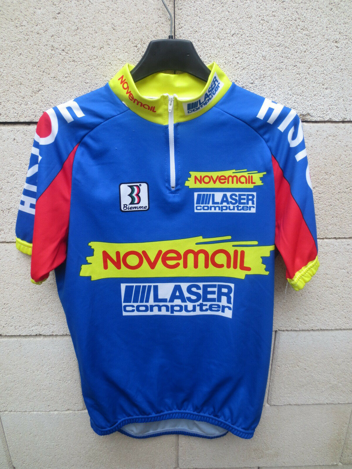 Maillot  cyclist histor novemail laser computer tower france 1993 shirt maglia l  is discounted
