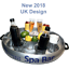 COMPACT-SPA-BAR-Inflatable-Floating-Hot-Tub-Spas-Snack-amp-Drink-Tray-Round