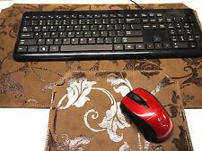 Leather Key board & Mouse pad set. Unique Design