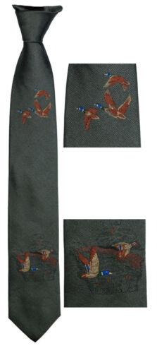 Jagdkrawatte Schlips Krawatte mit Wildenten von LLOYDS SKOGEN