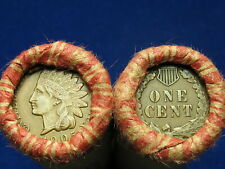 Shotgun Penny Rolls Full of Indian Head Cents 1859 1909