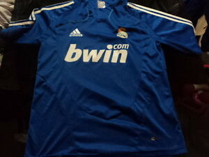 cheap for discount ddd56 36fa1 Details about Fantasy old soccer blue Jersey t-shirt Real Madrid