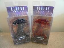 Neca Aliens Genocide Red & Black Xenomorph Warrior Action Figure BN