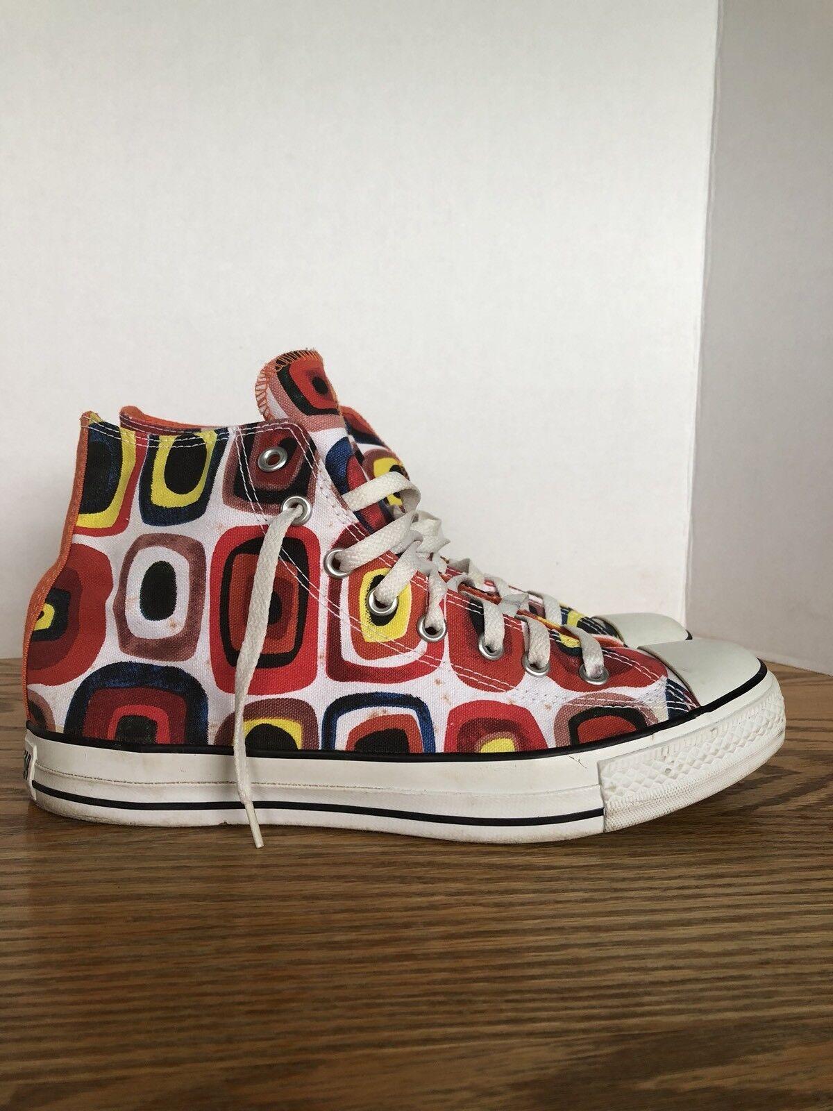 RARE Converse Chuck Taylor All Star Modern Art Bullseye multicolor mens 10