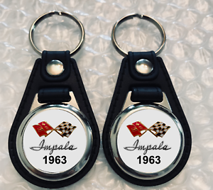 1963 FALCON KEYCHAIN SET 2 PACK