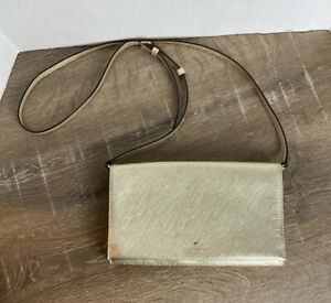 Kate-Spade-NY-Cedar-Street-Gold-Crosshatched-Leather-Clutch-Crossbody-Hand-Bag