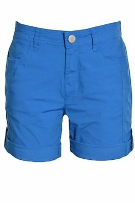 DKNY Women/'s Roll Tab Bermuda Walking Shorts 98/% Cotton 2/% Spandex NWT