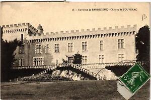 CPA AK Env. de BARBEZIEUX - Chateau de Touverac (654457)