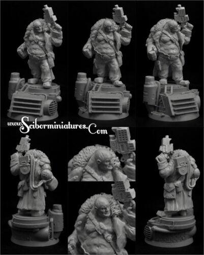 28mm SF Cossack Ogre #4 Scibor Miniatures