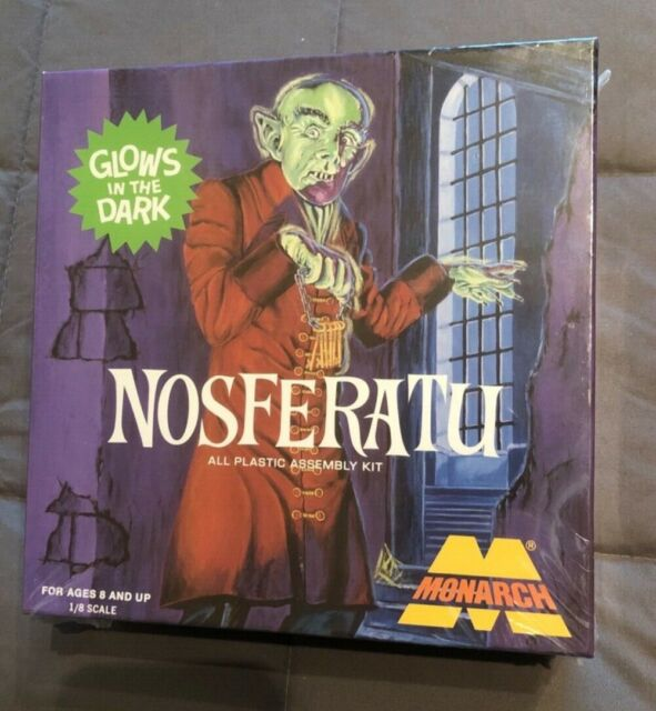 MONARCH NOSFERATU AURORA STYLE MODEL KIT SEALED OUT OF PRODUCTION GLOW