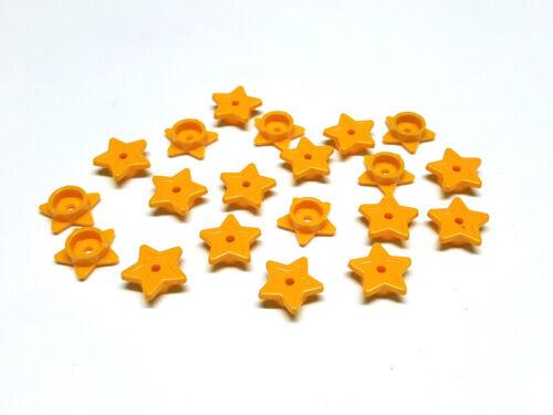 6017001 Lego Friends Stern mit Noppenhalter Gelb Orange 20 Stück