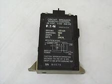 EATON CUTLER HAMMER SM600BA 15 A 24VDC Aircraft Remote Control Circuit Breaker