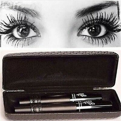 Women Unique Durable Waterproof Makeup 3D Fiber Lash Mascara Set US