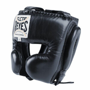Cleto-Reyes-Head-Guard-Boxing-Headguard-with-Cheek-Protection-Black-Elite-Pro